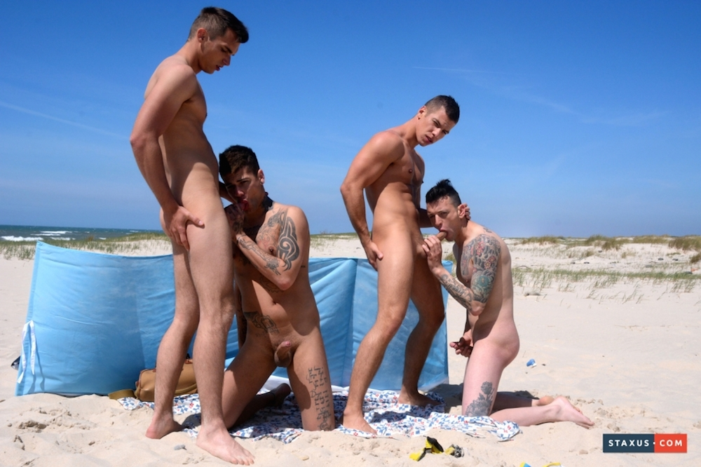 NSOS Hot beach foursome 1