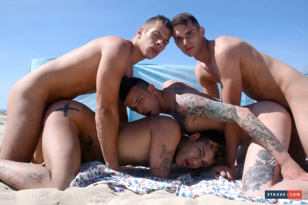 NSOS Hot beach foursome 3